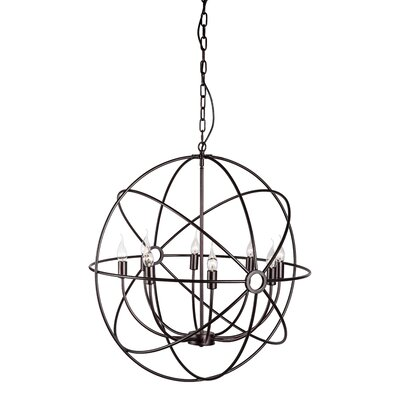 Delilah 8-Light Candle-Style Chandelier