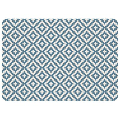 Kaden Byzantine Diamonds Doormat Color: Slate
