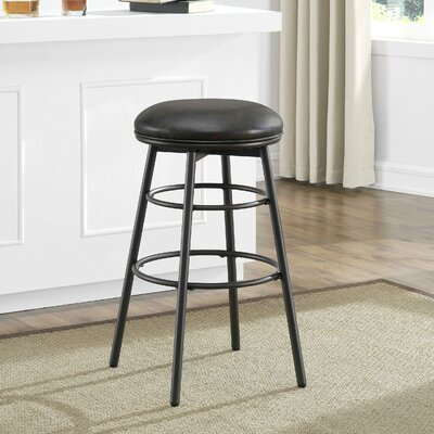 Montross 26 Swivel Bar Stool with Cushion