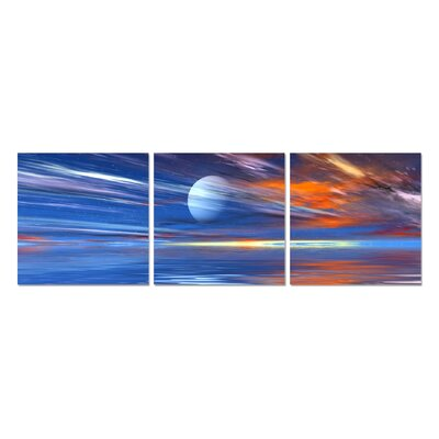 'Transition' Graphic Art Print Multi-Piece Image on Wrapped Canvas