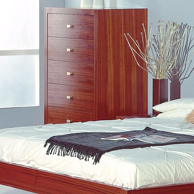 Apus 6 Drawer Standard Chest Finish: Teak