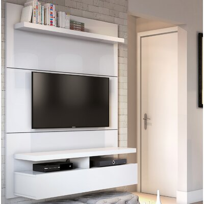 Boone Entertainment Center Color: White Gloss