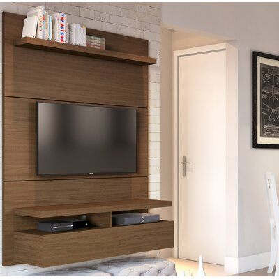 Boone Entertainment Center Color: Nut Brown