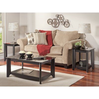 Wentworth 3 Piece Coffee Table Set