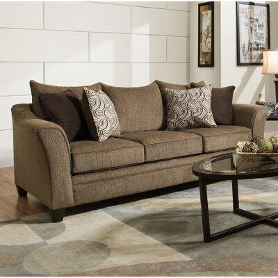 Simmons Upholstery Heath Sleeper Sofa Upholstery: Albany Truffle