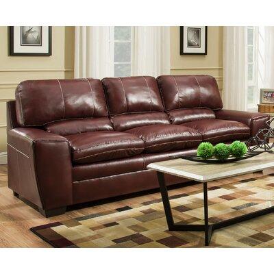Simmons Upholstery Grady Sofa Upholstery: Medusa Cinnamon