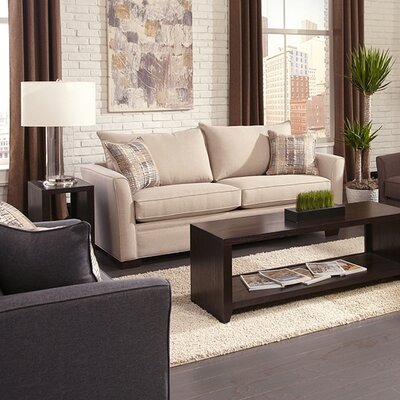 Penfold Sleeper Sofa Upholstery: Hayden Beige, Mattress Type: Innerspring, Size: Queen