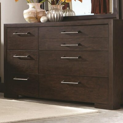 Miranda 7 Drawer Double Dresser