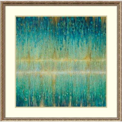 'Rain Abstract I' Framed Painting Print