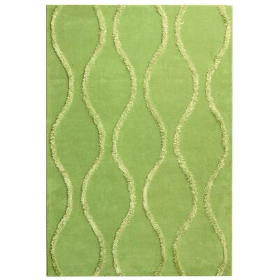 Woodburn Aqua / Green Contemporary Rug Rug Size: Rectangle 6 x 9