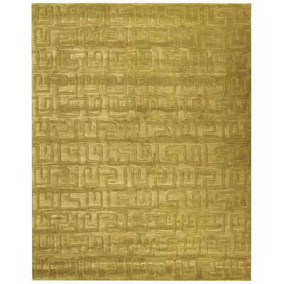 Woodburn Green Area Rug Rug Size: 76 x 96