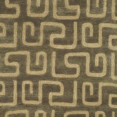 Woodburn Brown/Gold Area Rug Rug Size: Rectangle 96 x 136