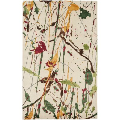 Chanler Ivory/Multi Rug Rug Size: Rectangle 5' x 8'