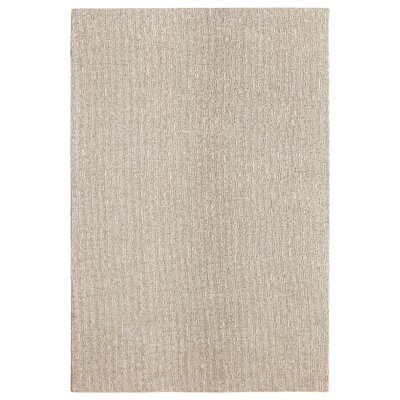 Bettie Hand-Tufted Sandstone Area Rug Rug Size: Rectangle 9 x 12