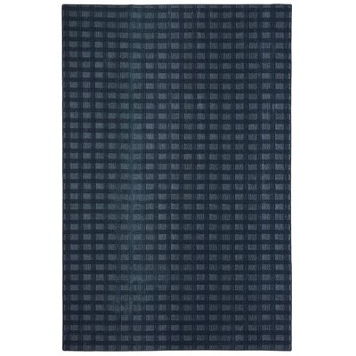 Bettie Hand-Tufted Navy Area Rug Rug Size: Rectangle 9 x 12