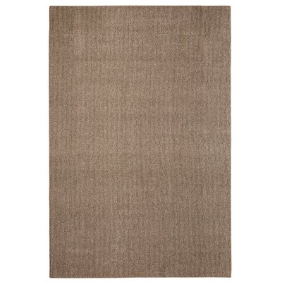 Bettie Hand-Tufted Dark Taupe Area Rug Rug Size: 6 x 9