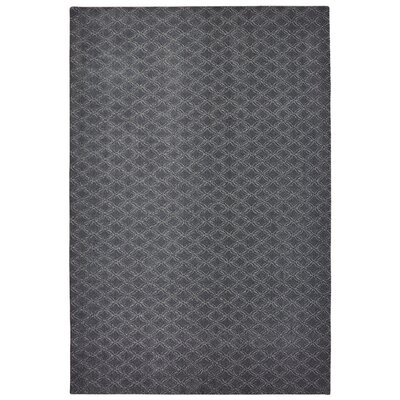 Bettie Hand-Tufted Deep Slate Area Rug Rug Size: 6 x 9