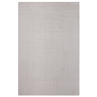 Bettie Hand-Tufted Icy Gray Area Rug Rug Size: 6 x 9