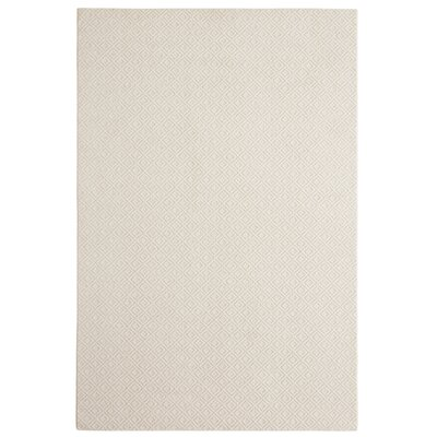 Bettie Hand-Tufted Cream Area Rug Rug Size: 6 x 9