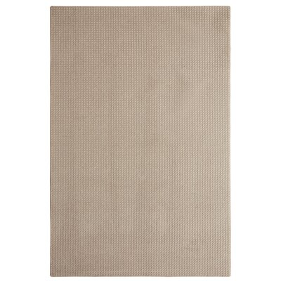 Bettie Hand-Tufted Beige Area Rug Rug Size: 6 x 9