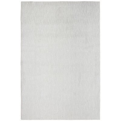 Bettie Hand-Tufted Icy Gray Area Rug Rug Size: Rectangle 9 x 12