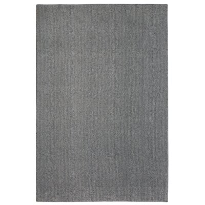 Bettie Hand-Tufted Evening Gray Area Rug Rug Size: 6' x 9'