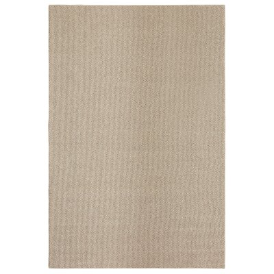 Bettie Hand-Tufted Tan Area Rug Rug Size: 9' x 12'