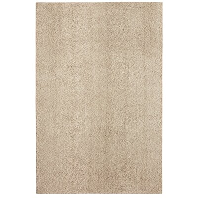 Bettie Hand-Tufted Khaki Area Rug Rug Size: 6' x 9'
