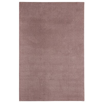 Bettie Hand-Tufted Plum Area Rug Rug Size: 6' x 9'