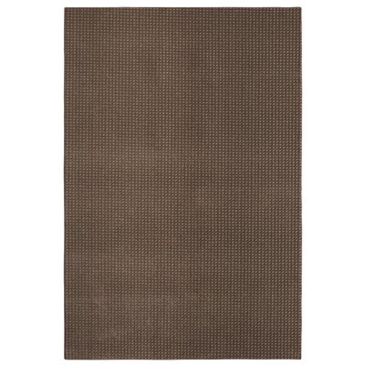 Bettie Hand-Tufted Dark Taupe Area Rug Rug Size: Rectangle 9 x 12