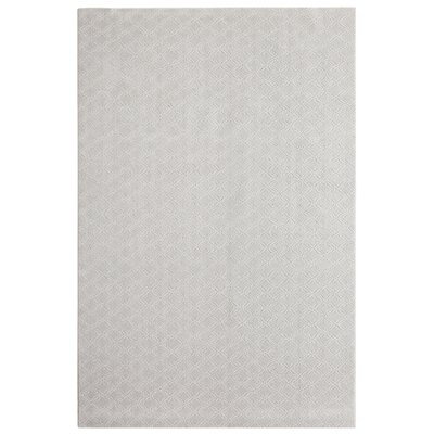 Bettie Hand-Tufted Gray Area Rug Rug Size: 6' x 9'