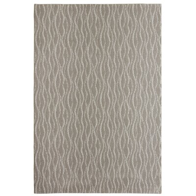 Bettie Hand-Tufted Stone Area Rug Rug Size: 6 x 9