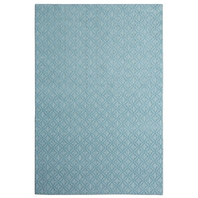 Bettie Hand-Tufted Light Bue Area Rug Rug Size: 9 x 12