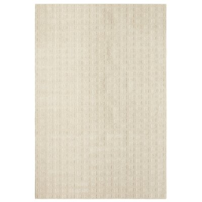 Bettie Hand-Tufted Ivory Area Rug Rug Size: 6 x 9