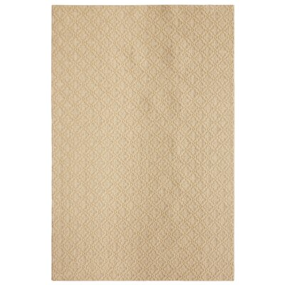 Bettie Hand-Tufted Tan Area Rug Rug Size: 6 x 9