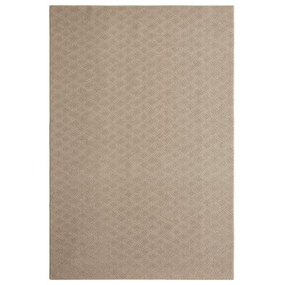 Bettie Hand-Tufted Mushroom Area Rug Rug Size: Rectangle 9 x 12