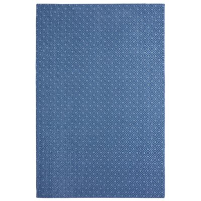 Bettie Hand-Tufted Blue Area Rug Rug Size: Rectangle 6 x 9
