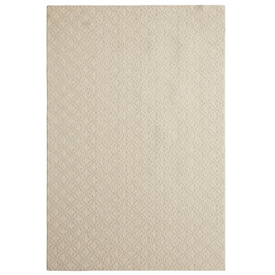 Bettie Hand-Tufted White Sand Area Rug Rug Size: 6 x 9