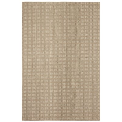 Bettie Hand-Tufted Almond Area Rug Rug Size: 6 x 9