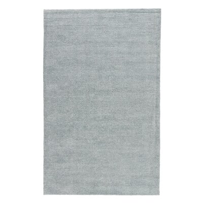 Nico Hand Woven Silk Silver Sea Moss Area Rug Rug Size: Rectangle 9 x 12