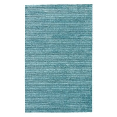 Nico Hand Woven Silk Bue Area Rug Rug Size: Rectangle 5 x 8