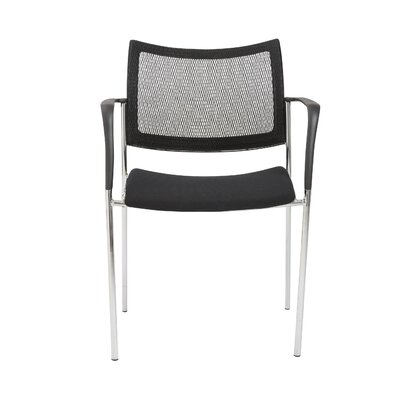Stow Mesh Guest Chair Color: Black