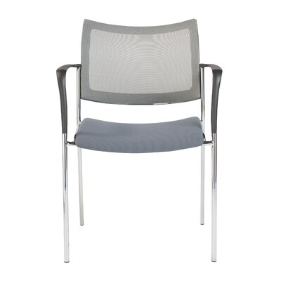 Stow Mesh Guest Chair Color: Gray