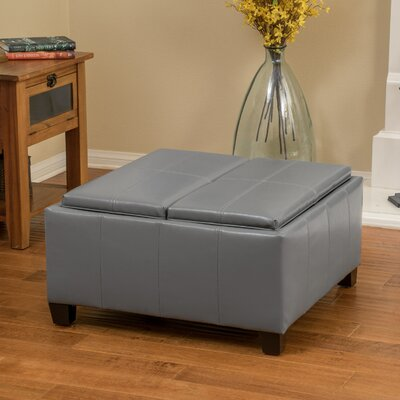 Suber Cocktail Ottoman Upholstery: Gray