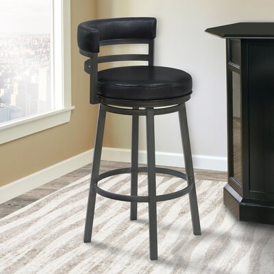 Glouscester 30 Swivel Bar Stool Finish: Mineral