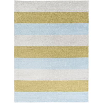 Greer Charcoal Area Rug Rug Size: 93 x 126