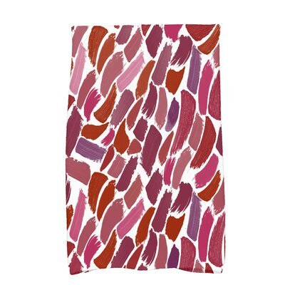 Bueche Tufted Novelty Hand Towel Color: Cranberry