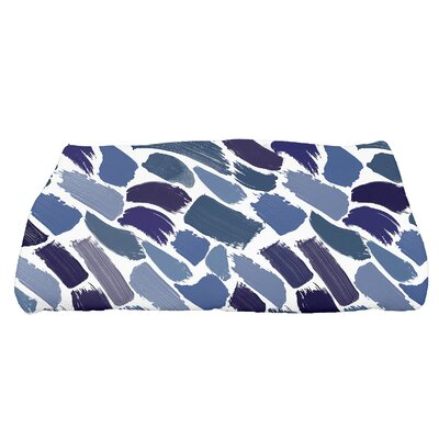 Jennifer Tufted Novelty Bath Towel Color: Blue