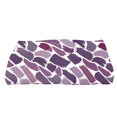 Bueche Tufted Novelty Bath Towel Color: Purple