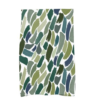 Bueche Tufted Novelty Hand Towel Color: Green